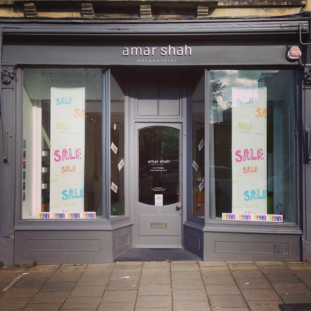 We've just started our #sale for 2016! Come in and pick up a bargain! 50% off all sale frames #cothamhill #eyewear #opticians #optometrist #bristol #fashion #amarshahoptom #glasses #halfprice